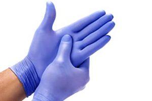 gloves ppe kit